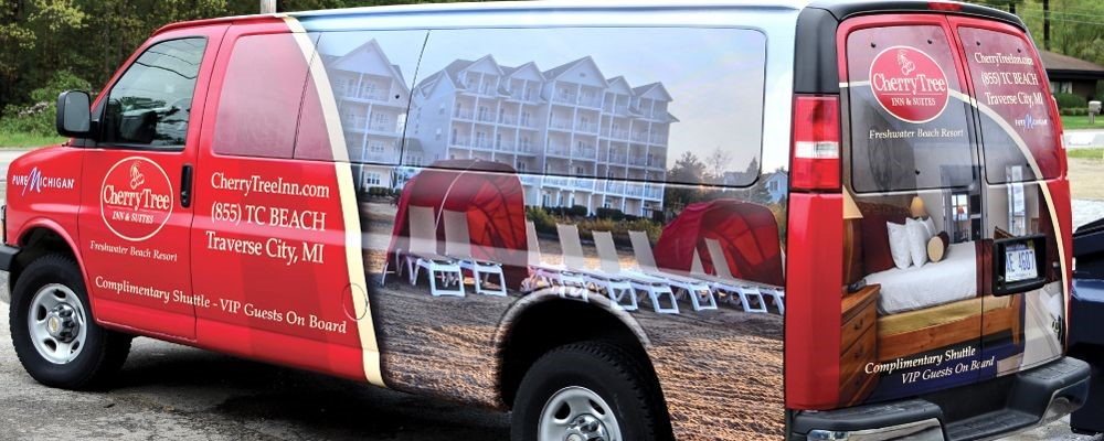 Vehicle Graphics Image360 - Traverse City