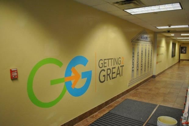 WG027 - Custom Wall Graphic for Healthcare