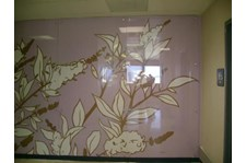 WIN046 - Custom Window Graphic for Interior Design