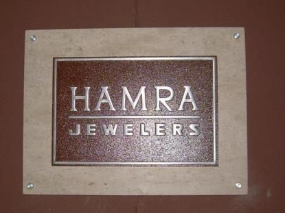PLA028 - Custom Plaque for Retail