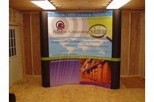 PU005 - Custom Pop-Up Trade Show Booth for Professional Services