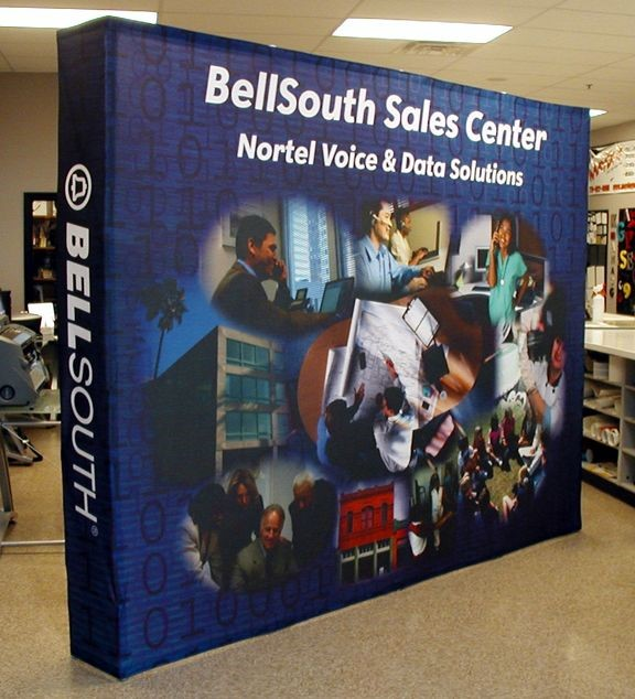 PU014 - Custom Pop-Up Trade Show Booth for Retail
