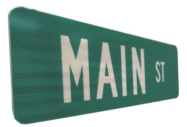 STR004 - Custom Street Name Sign