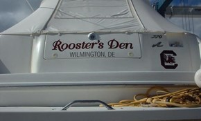 Boat & Watercraft Decals & Lettering