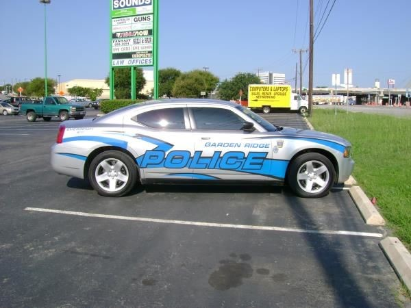 Emergency Vehicle Striping & Chevrons