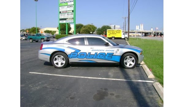 EVR001 - Custom Emergency Vehicle Reflective Striping & Chevron for Government