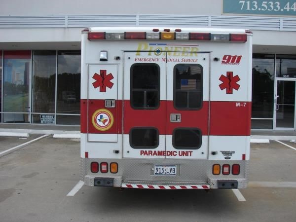 EVR004 - Custom Emergency Vehicle Reflective Striping & Chevron for Healthcare