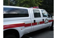 EVR012 - Custom Emergency Vehicle Reflective Striping & Chevron for Government