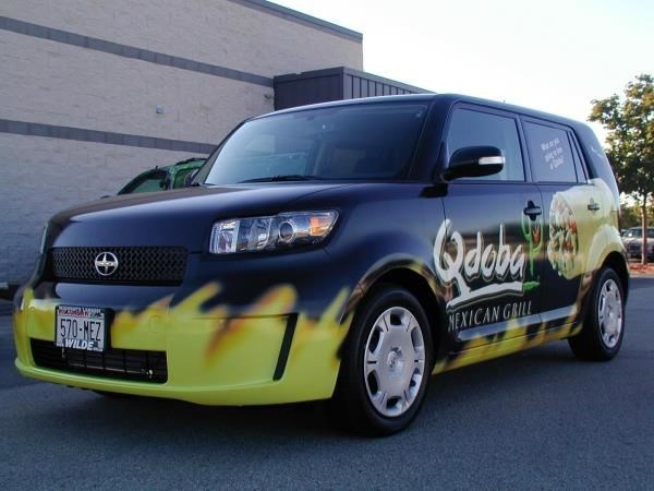 PART119 - Custom Partial Wrap for Restaurant