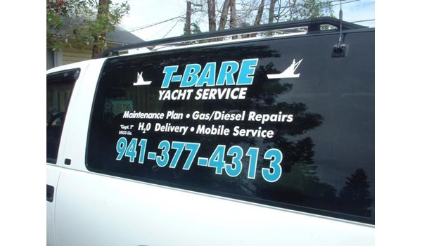 Window Decal Lettering