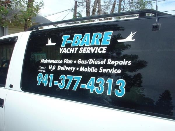 Vehicle window decals graphics lettering