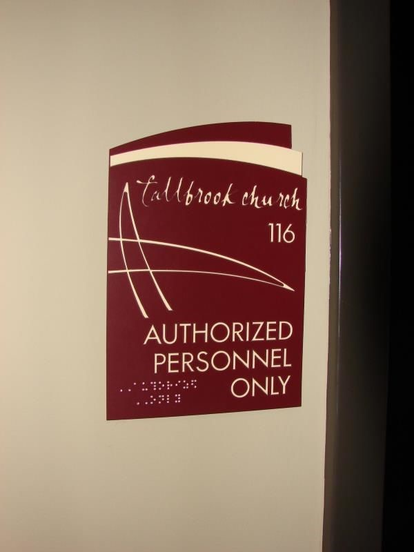 Bulk ADA & Braille Signs