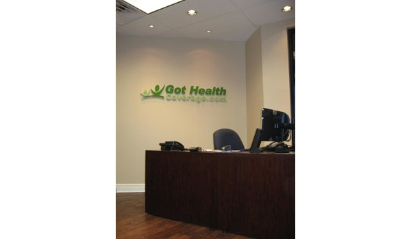 DS187 - Custom Dimensional Signage for Professional Services