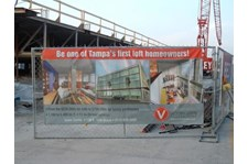 MESH024 - Custom Mesh Banner and Building Wrap for Property Management
