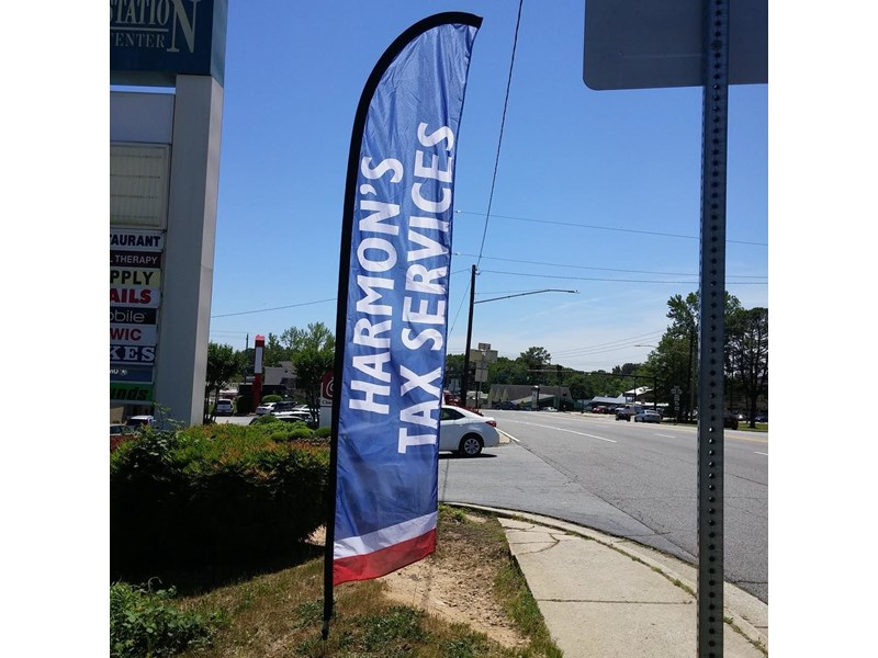 Flutter Flags & Feather Banners   Image360 Corporate