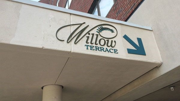 Willow Terrace Dimensional Signage