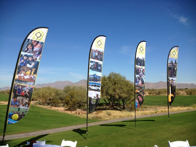 Golf Flutter Flag Banner
