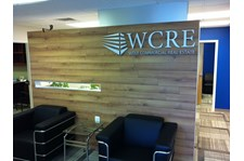 Wolf Commercial Real Estate Dimensional Lettering