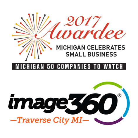 "Image360 - Traverse City Honored as One of the 2017  ""Michigan 50 Companies to Watch"""