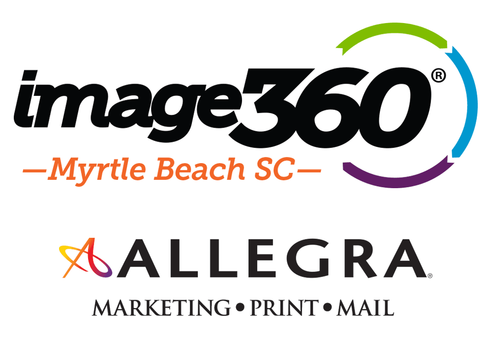 Allegra Myrtle Beach Launches New Sign Brand Image360