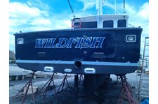 Boat Lettering Wildfish