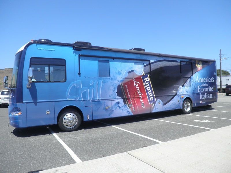 Bus Wrap Riunite Side