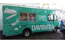 Davids Tea Food Truck Wrap