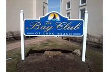 Sign for Bay Club of Long Beach