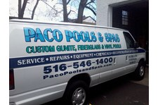 Paco Pools Van Graphics