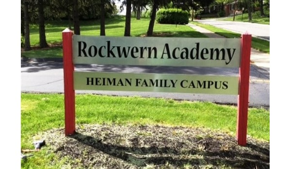 Need a replacement panel?  We can help you get the right match!  (Replacement aluminum panel by Signs Now Cincinnati for Rockwern Academy, Cincinnati, OH)