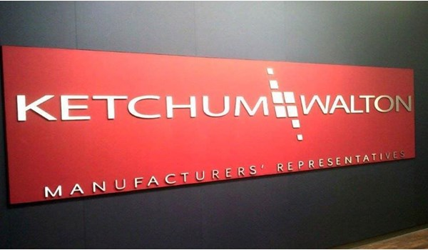 Dimensional Letters for Ketchum and Walton in Cincinnati