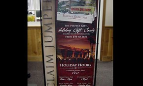 Fabric & Vinyl Indoor Banners