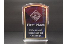 Acrylic Etched Award