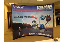 - Tradeshow Graphics - Pop-Up Tradeshow Display - Balmar - Arlington, WA