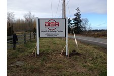 - Rigid Signage - Post & Panel Sign - DISA, Inc. - Ferdale, Wa
