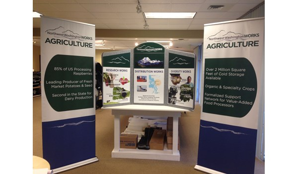 - Tradeshow Displays - Retractable Banners & Tabletop Display - Economic Development Association of Skagit County - Mount Vernon, WA