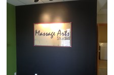 - Custom Displays - Acrylic & Stand-Offs Display - Massage Arts Studio - Burlington, WA