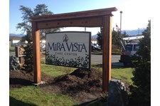 - Architectural Signage - Sandblasted Sign - Mira Vista Care Center - Mount Vernon, WA