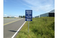 - Traffic Signage - Reflective Signage - Naval Hospital Oak Harbor - Oak Harbor, WA