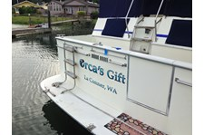 - Vehicle Graphics - Boat Lettering - Orca