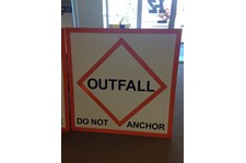 - Traffic & Safety Signage - Coast Guard Signage - Culbertson Marine Construction - Anacortes, WA