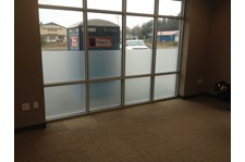 - Window Graphics - Frosted Glass Vinyl - Presidio Construction - Mount Vernon, WA
