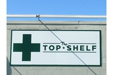 - Architectural Signage - Business Sign - The Top Shelf - Burlington, WA