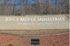 Architectural Exterior Lettering Sign for Joyce Meyer Ministries in St. Louis, MO