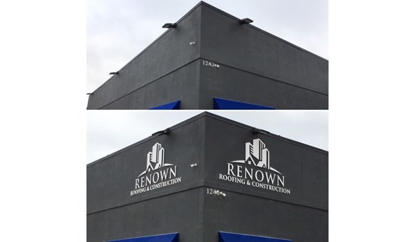 Exterior & Outdoor Signage (Before & After)