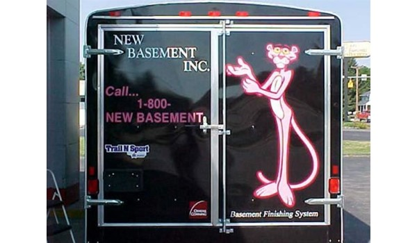Custom vehicle graphics and decals