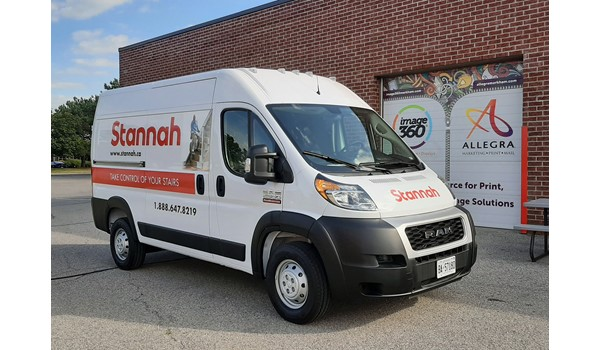 Stannah Van Partial Wrap Side