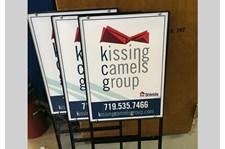 - Image360-Colorado-Springs-CO-Yard-Sidewalk-Signage-Real-Estate-Kissing-Camels-Group