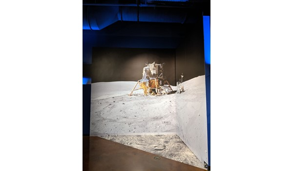 Apollo 11 Exhibit Wall and Floor Graphics