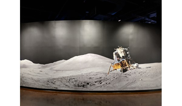 Apollo 11 Exhibit Wall Graphics